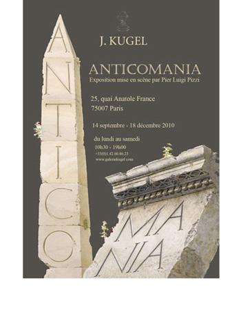 Invitation for J. Kugel Antiquaires, Paris