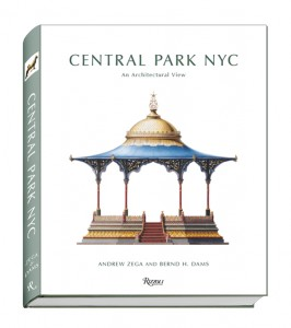 Central Park NYC dustjacket