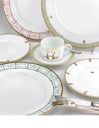 Chinoiserie porcelain for BRFC