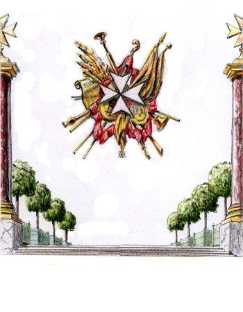 Knights of Malta Invitation, Versailles