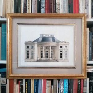 Pavillon Monceau framed