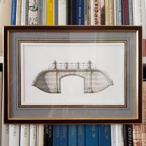 Dipway Arch framed